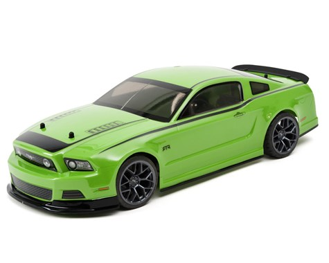 HPI Racing E10 Touring Gittin Jr 2014 Mustang Body (Green) RTR