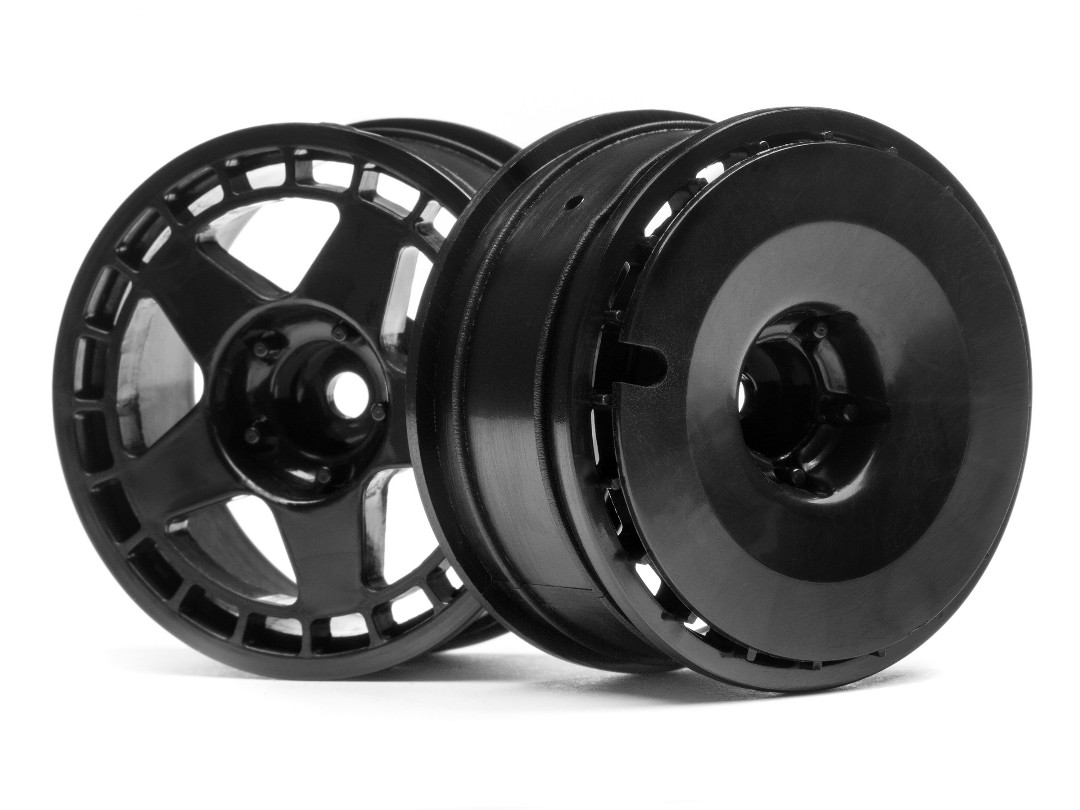 HPI Fifteen52 Turbomac Wheel Black (26Mm/2Pcs)