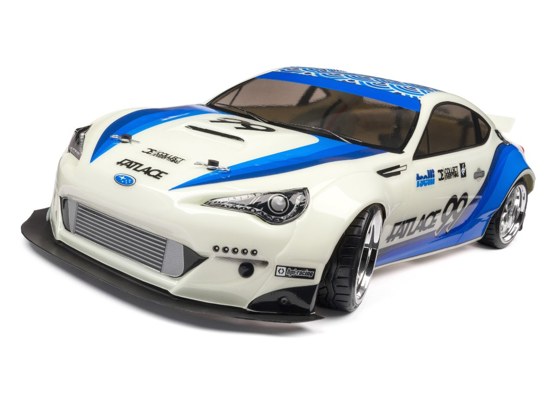HPI Fatlace Subaru Brz Body(Painted/White/200Mm)