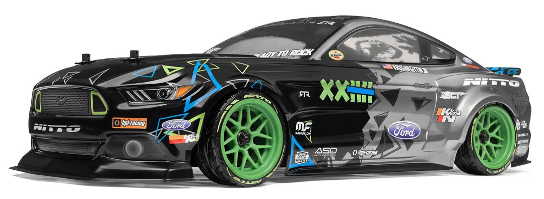 HPI Racing RS4 Sport 3 Drift Ford Mustang Vaughn Gittin Jr.