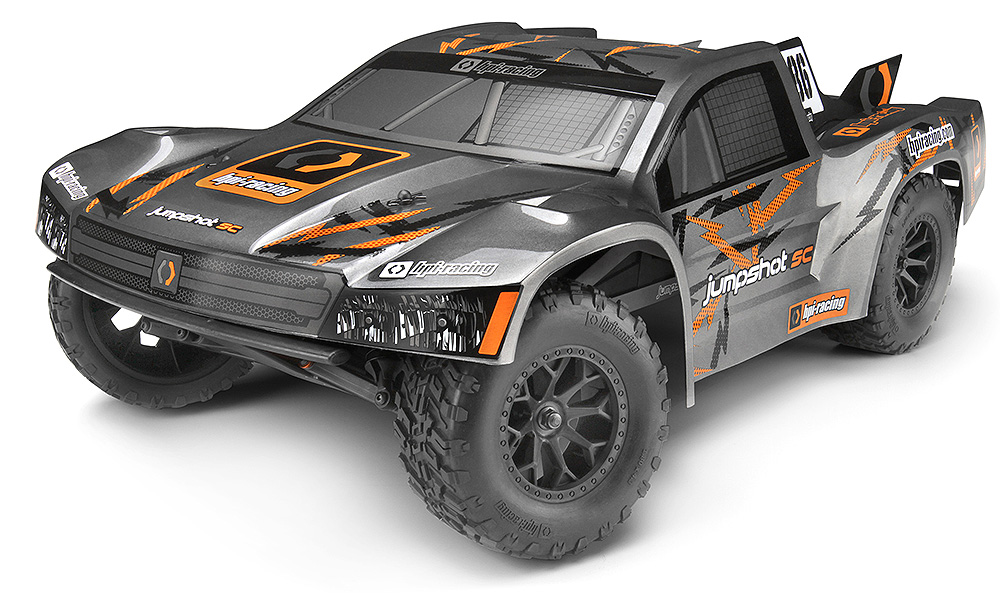 HPI Racing Jumpshot RTR 1/10 Electric 2WD Short Course Truck - Click Image to Close