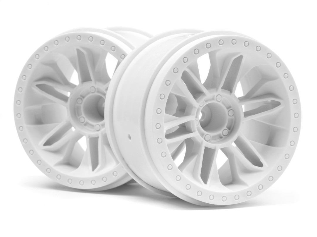HPI 6-Shot St Wheel (White/2Pcs)