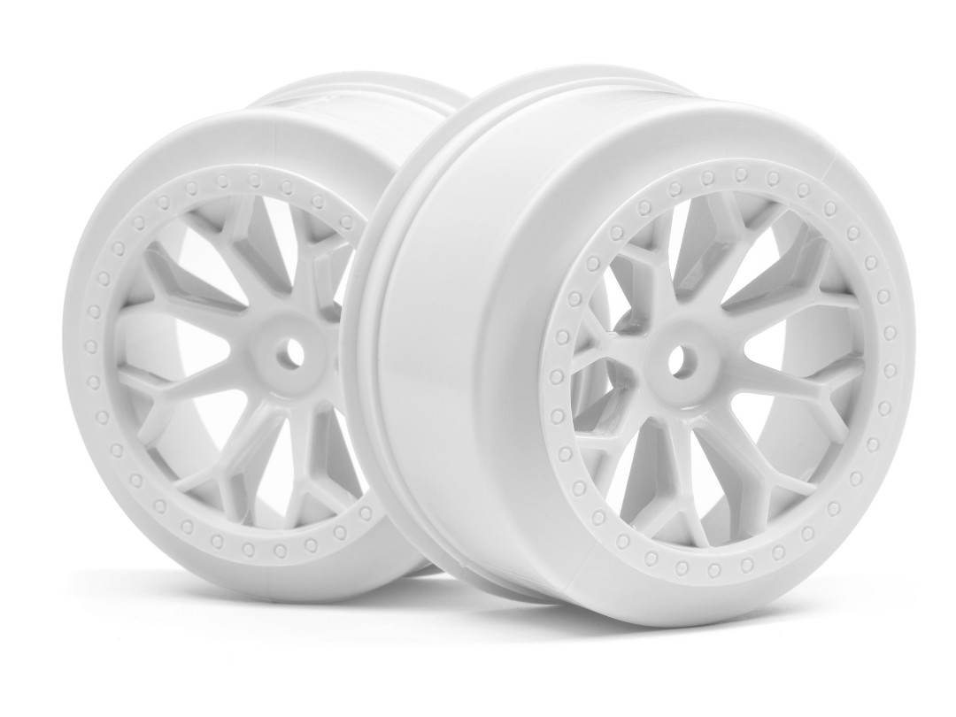 HPI 8-Shot Sc Wheel (White/2Pcs)