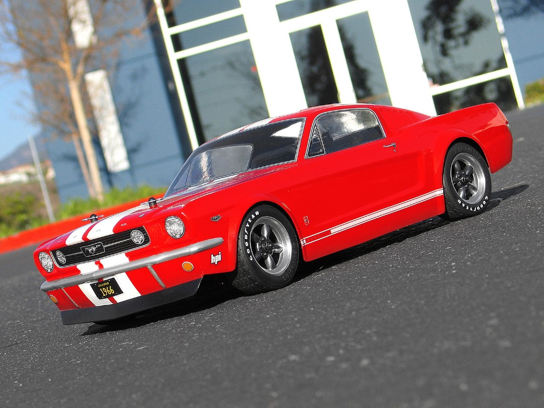 HPI 1966 Ford Mustang GT Body 200MM