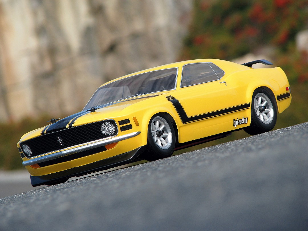 HPI 1970 Ford Mustang Boss 302 Body (200Mm)