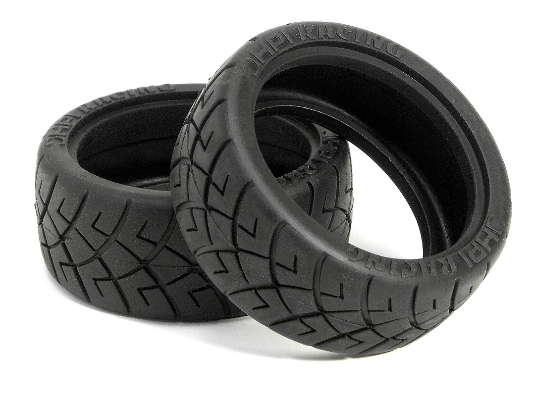 HPI X Pattern Radial Tyre(26Mm) ( D Compound)
