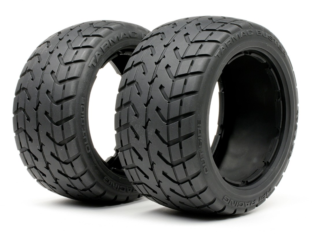 HPI Tarmac Buster Tire M Compound (170X80Mm/2Pcs)
