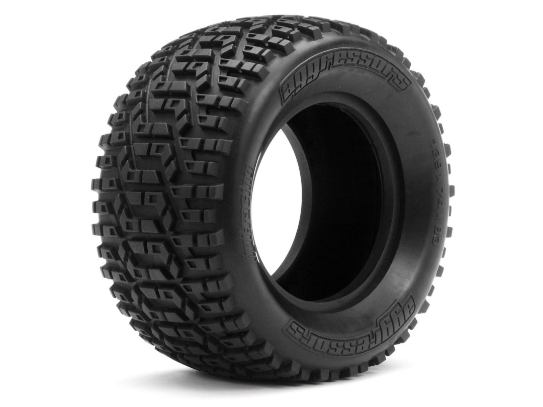HPI Aggressors Tire S Compound (139X74Mm/2Pcs)