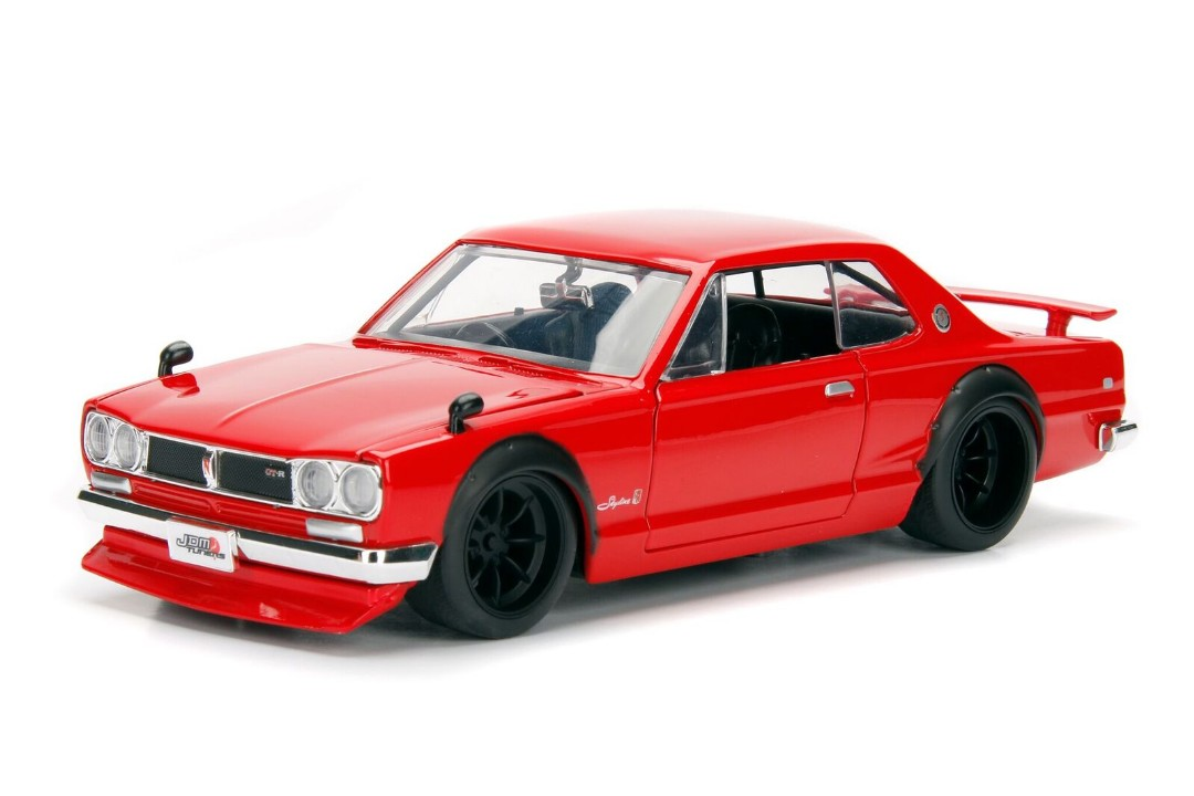 """JDM"" 1/24 1971 Nissan Skyline 2000 GT-R - Red"