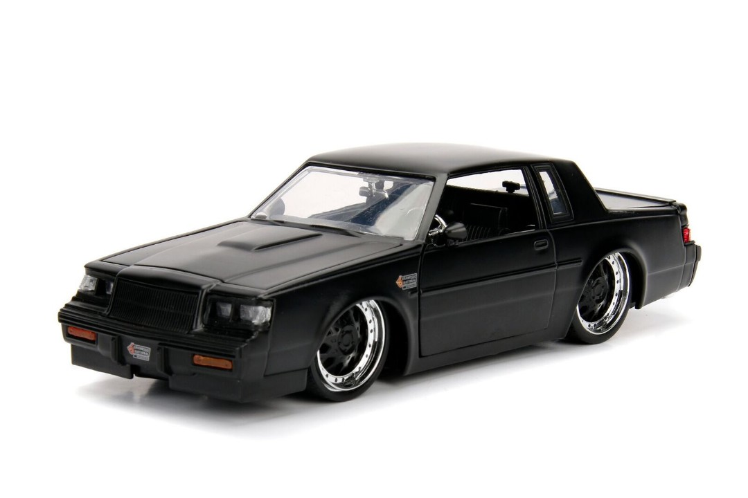 """BIGTIME Muscle"" 1/24 1987 Buick Grand National - Primer Black"