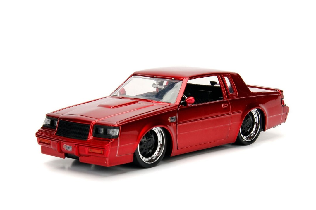 """BIGTIME Muscle"" 1/24 1987 Buick Grand National - Candy Red"