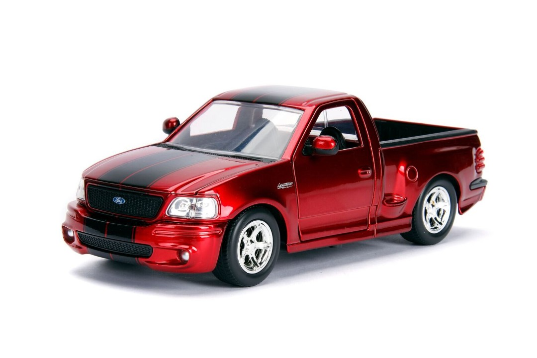 """Just Trucks"" 1/24 - 1999 Ford F-150 SVT Lightning - Candy Red"