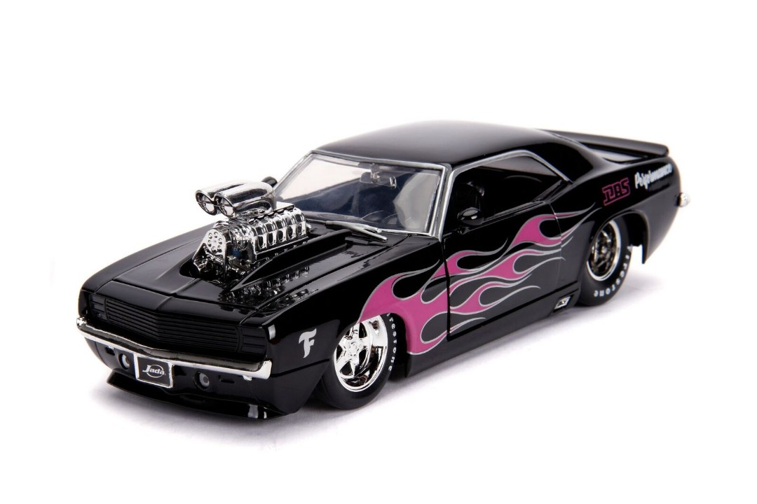 """BIGTIME Muscle"" 1/24 1969 Chevy Camaro � Glossy Black"