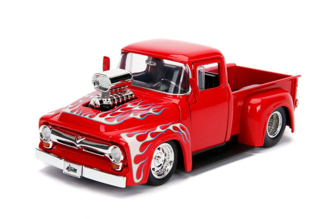 """Just Trucks"" 1/24 - 1956 Ford F100 – Glossy Red"
