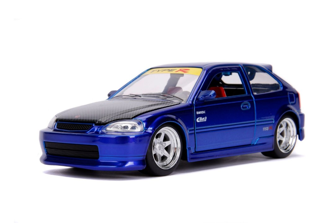 """JDM Tuners Metals Die Cast"" 1/24 1997 Honda Civic EK Type R - C"