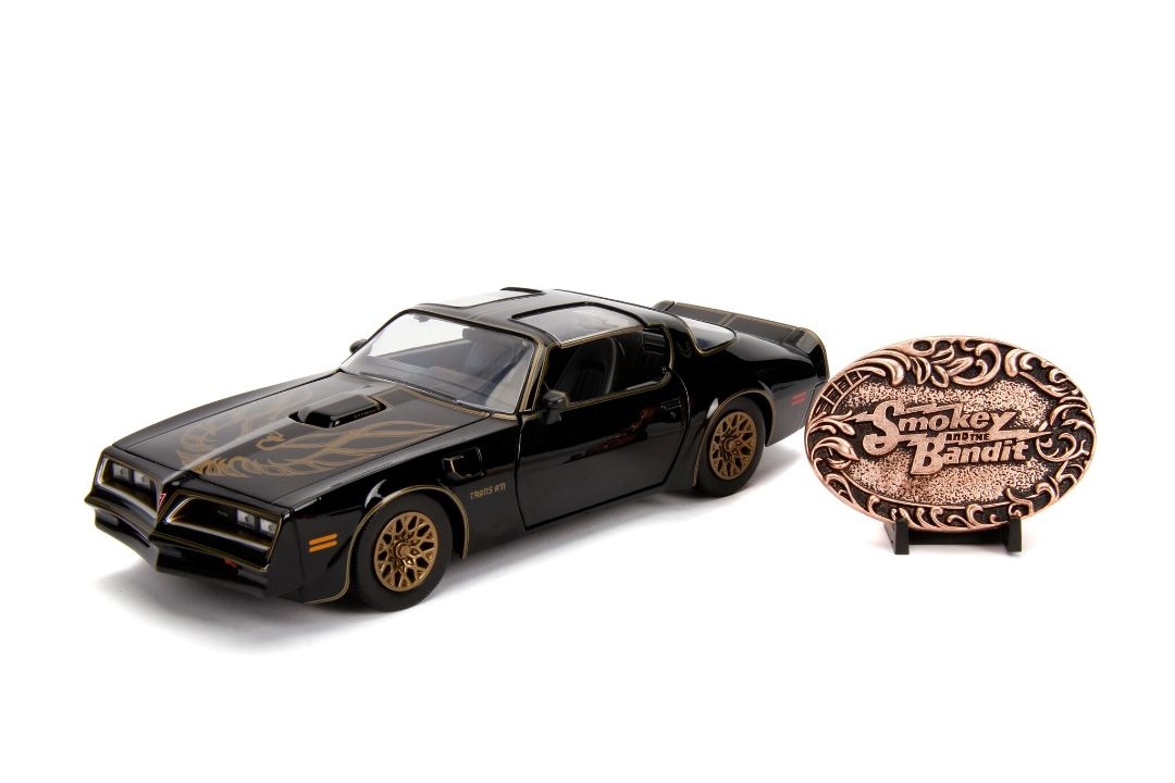 "Jada 1/24 ""Hollywood Rides"" Smokey & The Bandit 1977 Pontiac Fir"