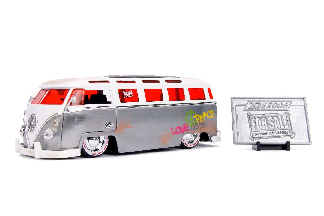 "Jada 20th ""For Sale"" 1/24 - 1962 VW Bus"
