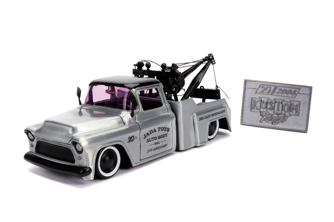 """Kustom Kings"" 1/24 - 1955 Chevy Stepside Tow Truck"