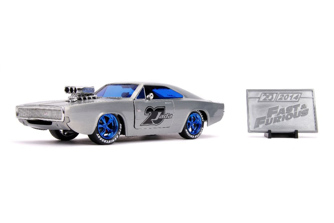 "Jada 1/24 ""Fast & Furious"" 1970 Dodge Charger R/T - 20th Anniver"