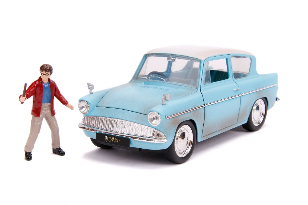 Jada 1/24 Hollywood Rides - 1959 Ford Anglia with Harry Potter