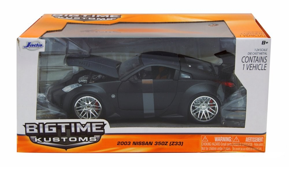"""BIGTIME Kustoms"" 1/24 2003 Nissan 350Z - Primer Black"