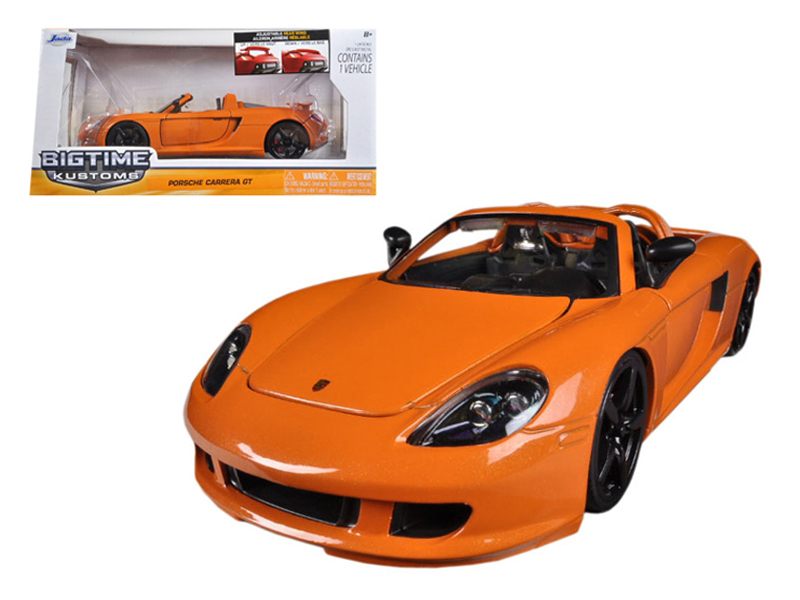 """BIGTIME Kustoms"" 1/24 2005 Porsche Carrera - Orange"