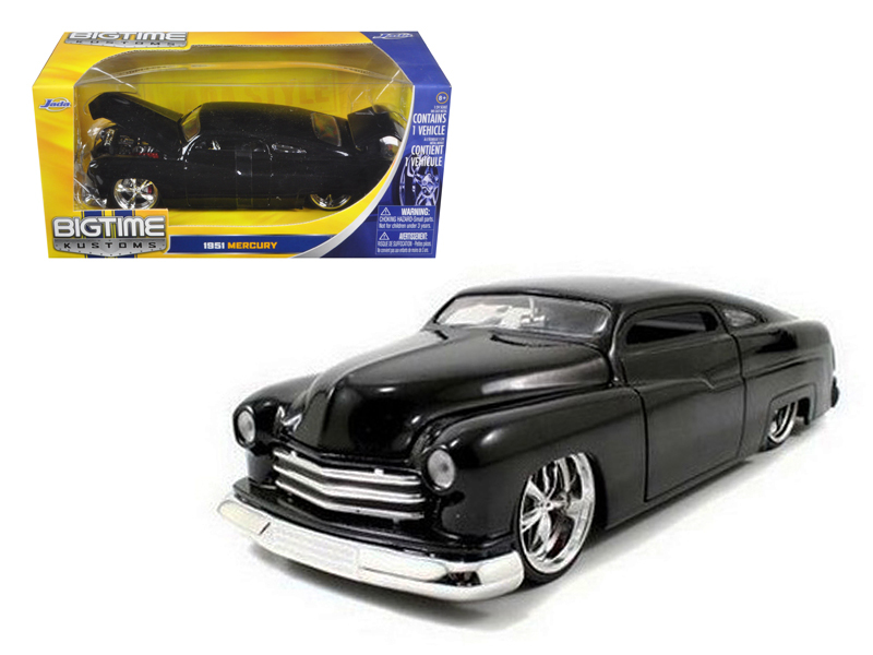 """BIGTIME Kustoms"" 1/24 1951 Lincoln Mercury - Glossy Black"