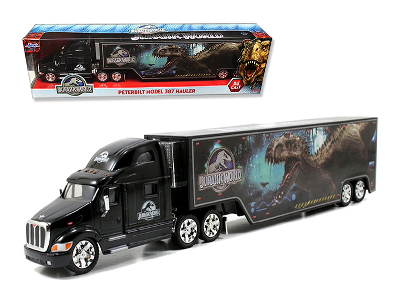 """Jurassic World"" 1/64 PeterBuilt 387 Hauler"