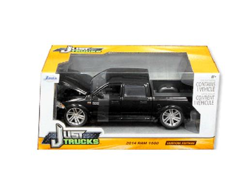 """Just Trucks"" 1/24 2014 Ram 1500 Custom Edition Glossy Bla"