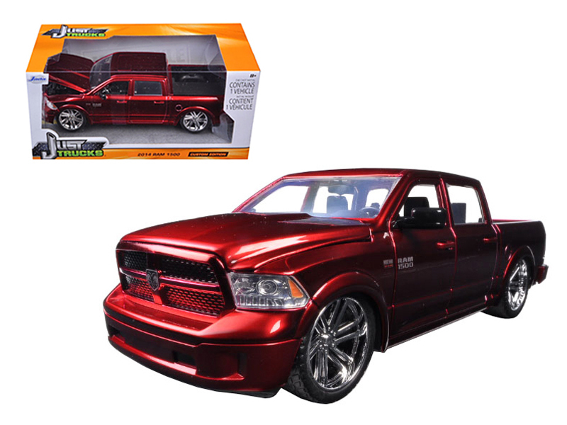 """Just Trucks"" 1/24 2014 Ram 1500 Custom Edition Candy Red"