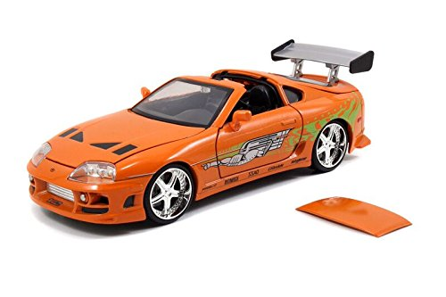 """Fast & Furious"" 1/24 Brian's Toyota Supra - Metallic Orange"