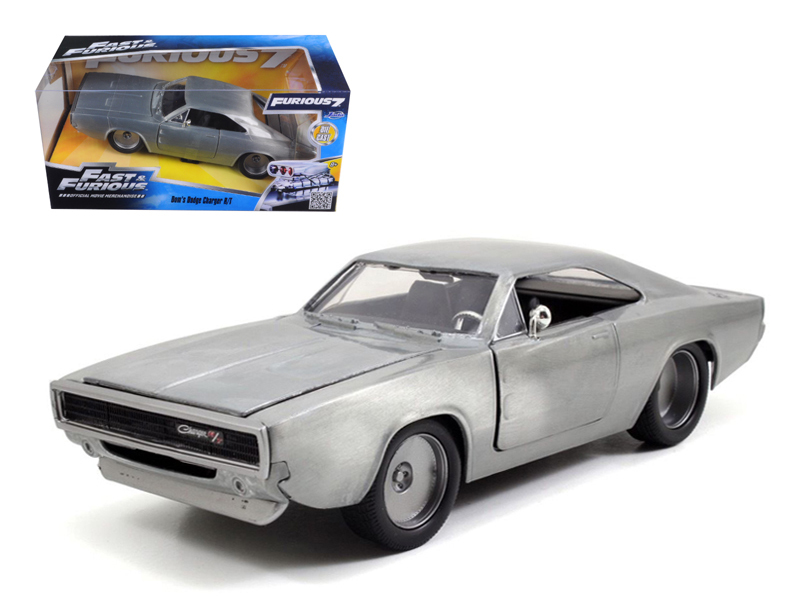"""Fast & Furious"" 1/24 1968 Dodge Charger R/T Bare Metal"