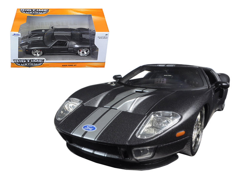 """BIGTIME Kustoms"" 1/24 2005 Ford GT - Primer Charcoal Grey"