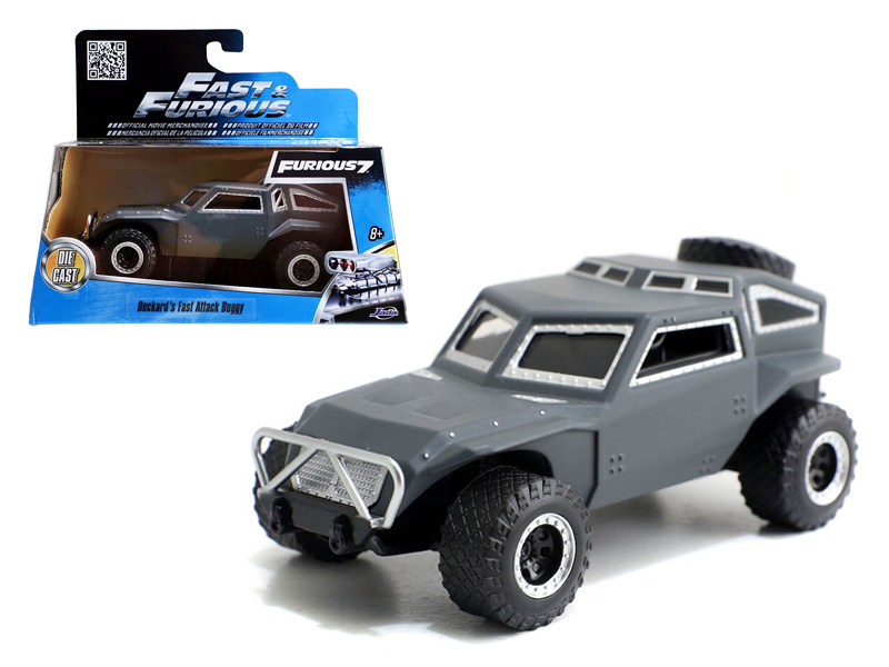 """Fast & Furious 7"" 1/32 Fast Attack Buggy - Grey"