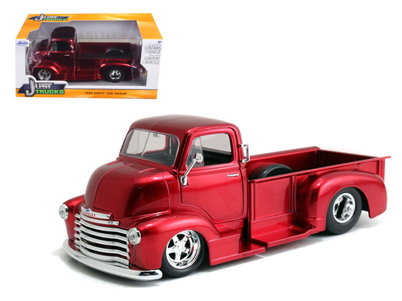 """Just Trucks"" 1/24 1952 Chevrolet COE Pickup - Candy Red"