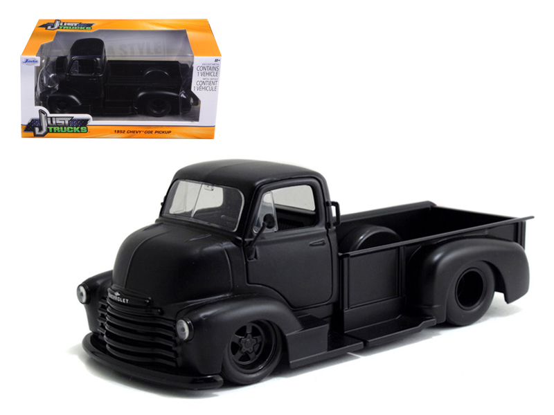 """Just Trucks"" 2015 1/24 1952 Chevy COE Pickup - Primer Black"