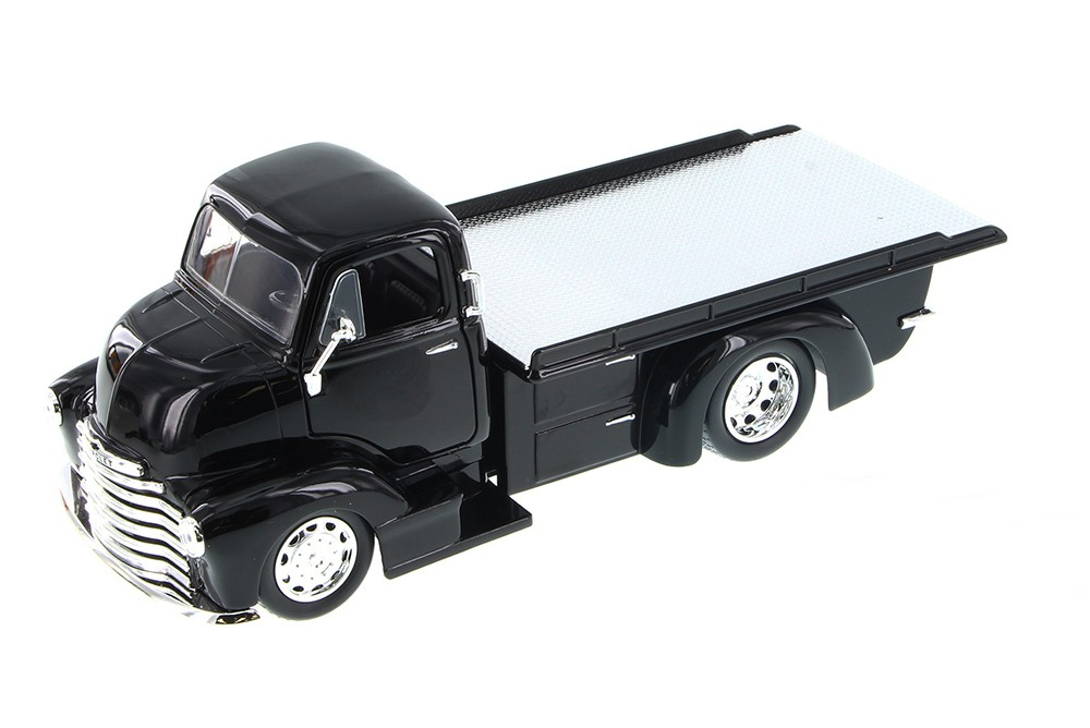 """Just Trucks"" 1/24 1952 Chevrolet COE Flatbed - Glossy Black"