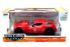 """BIGTIME Muscle"" 1/24 2009 Corvette Stingray Concept - Candy Red"