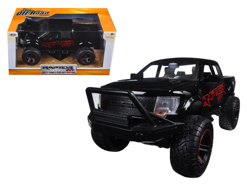 """Just Trucks Offroad"" 1/24 2011 Ford F150 SVT Raptor - Glossy Bl"