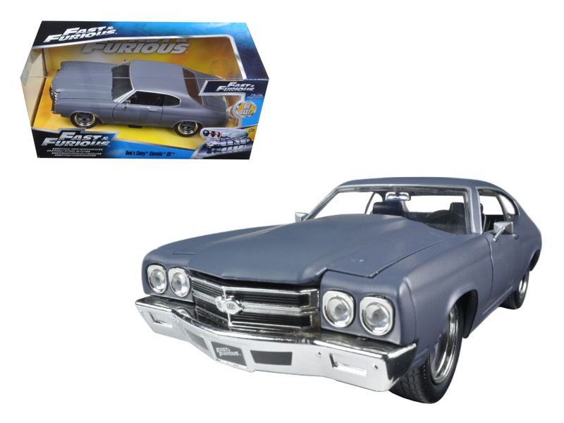 """Fast & Furious 7"" 1/24 Dom's 1970 Chevy Chevelle SS-Primer Grey"