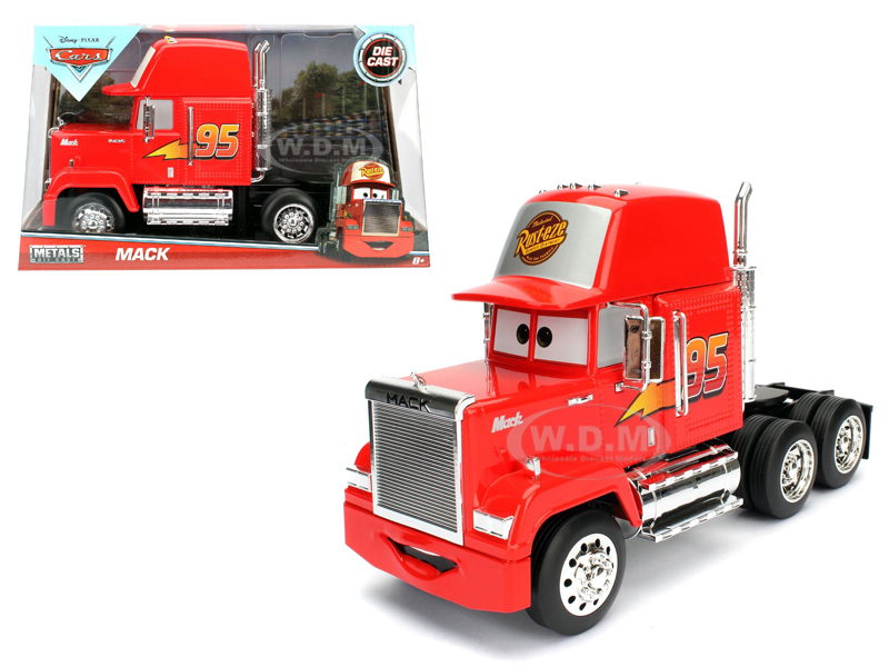 "1/24 Disney Pixar Cars ""Mack"" - Glossy Red"