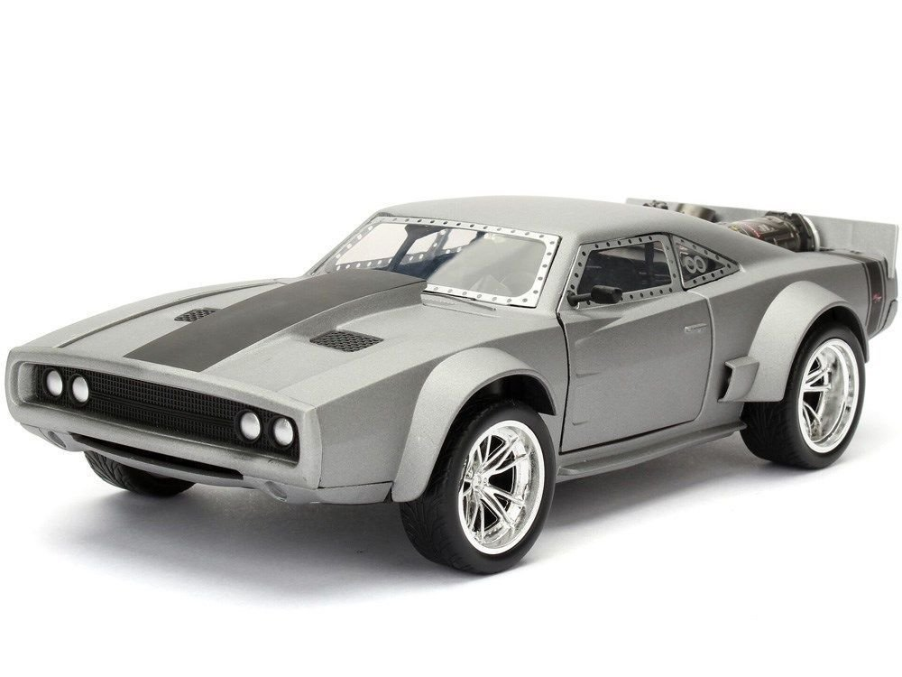 """Fast & Furious"" 1/24 Dom's Ice Charger - Semi Gun Metal Grey"