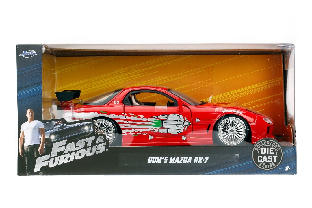 """Fast & Furious"" 1/24 Dom's Mazda RX-7"
