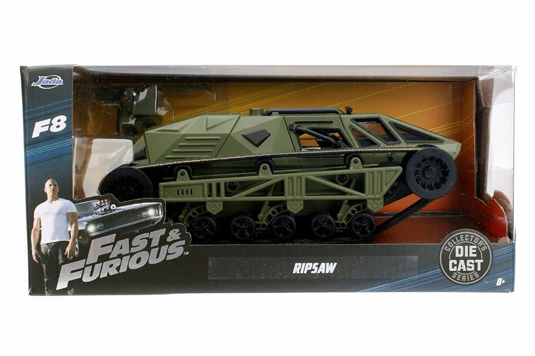 """Fast & Furious"" 1/24 Ripsaw - Primer Green"