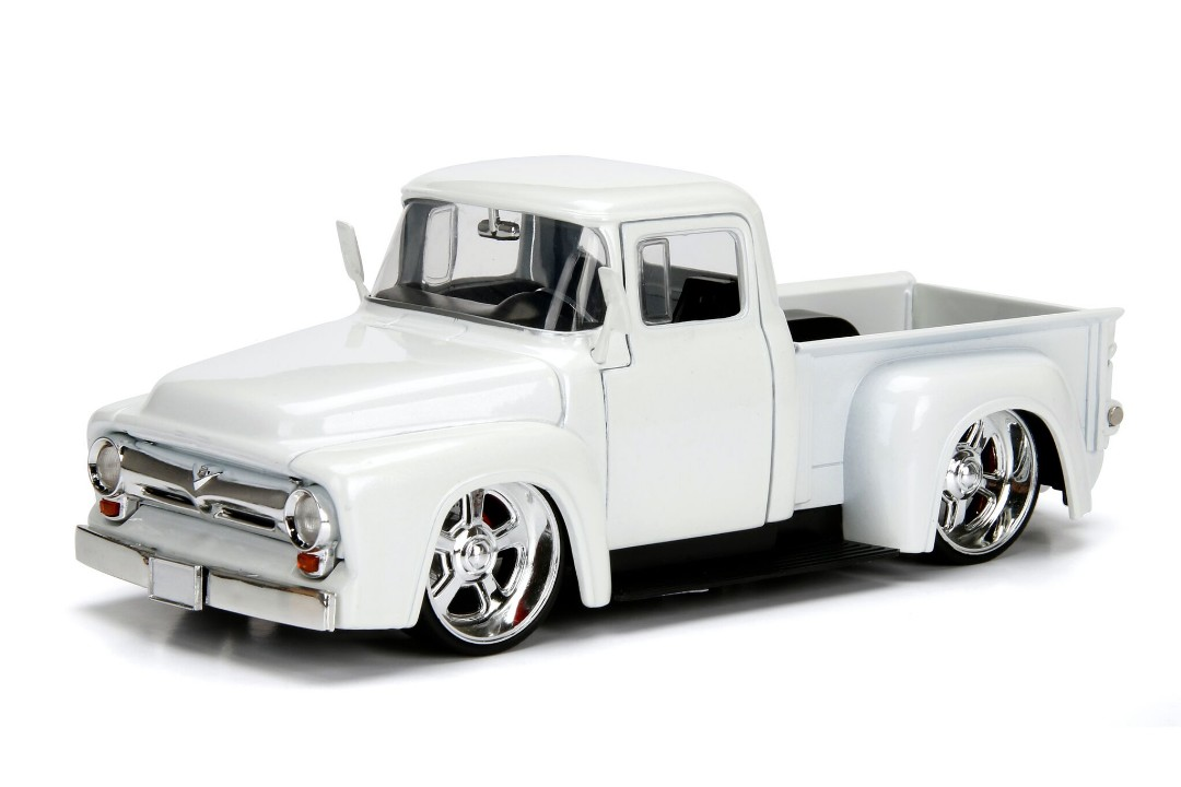 """Just Trucks"" 1/24 1956 Ford F-100 Pickup - Pearl White"