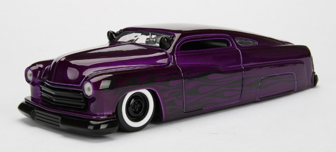 """BIGTIME Kustoms"" 1/24 1951 Mercury - Candy Purple"