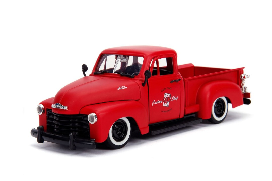 """Just Trucks"" 1/24 1953 Chevy Pickup – Primer Red"