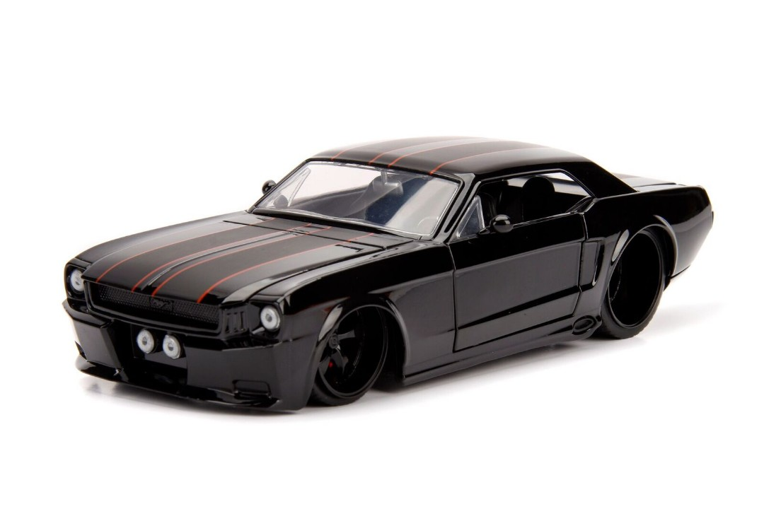 """BIGTIME Muscle"" 1/24 1965 Ford Mustang GT - Black"