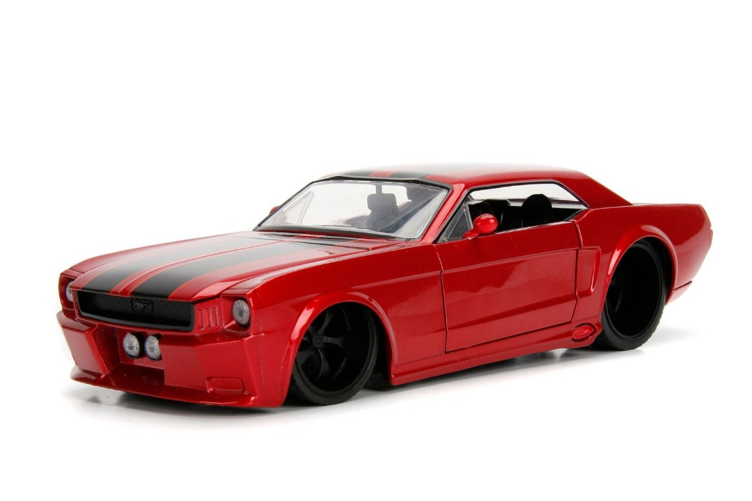 """BIGTIME Muscle"" 1/24 1965 Ford Mustang GT - Red"