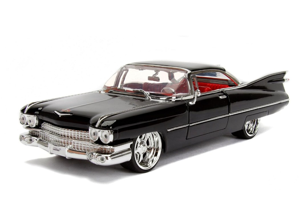 """BIGTIME Kustoms"" 1/24 1959 Cadillac DeVille - Black"